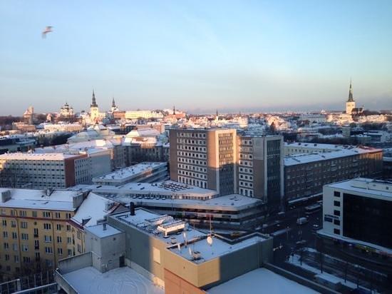 Radisson Blu Sky Hotel : view from 15th floor