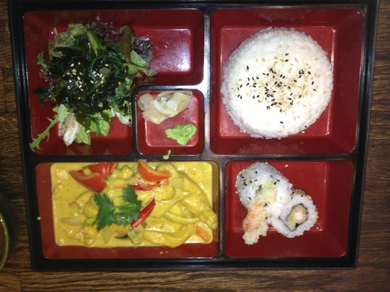 bento box picture of musashi ifsc dublin tripadvisor. Black Bedroom Furniture Sets. Home Design Ideas