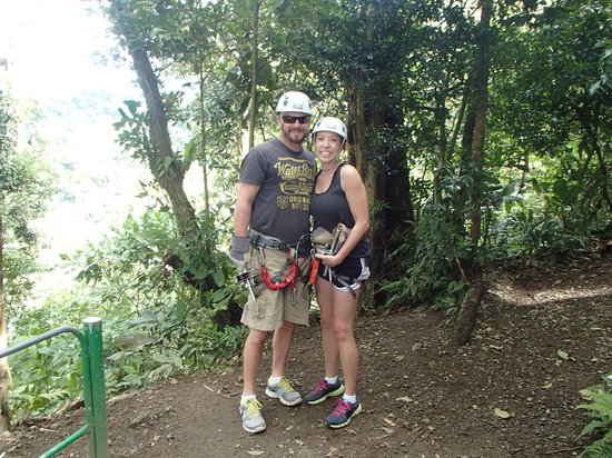 Sky Adventures - Arenal Park: just us
