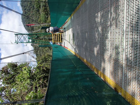Sky Adventures - Arenal Park: the end