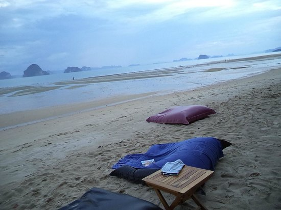 The Tubkaak Krabi Boutique Resort: наблюжая закат