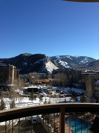 Sheraton Mountain Vista Villas, Avon / Vail Valley: View from our balcony.., stunning!