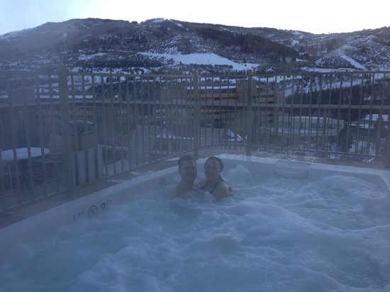 Sheraton Mountain Vista Villas, Avon / Vail Valley: Rooftop hot tub!