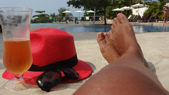 Sonesta Hotel Cartagena: Bem bonita a área da piscina e tem duas