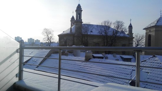 Europa Royale Vilnius: вид с балкона