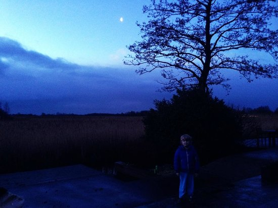 2B: Bed&Breakfast: A fairy tale under the moon, just outside the guestroom
