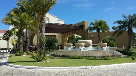 Now Larimar Punta Cana: front entrance