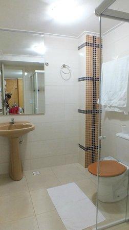 Maria Ricca Palace Hotel: Vista do banheiro