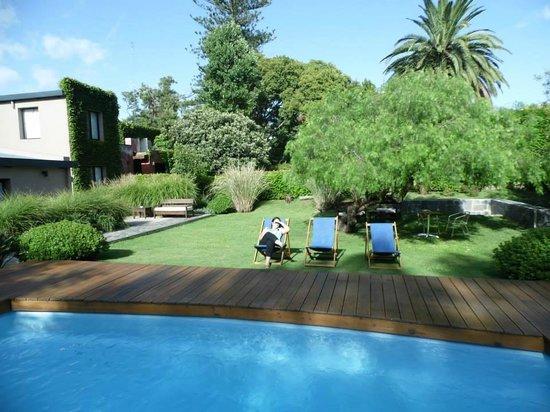 Posada El Capullo : el jardin