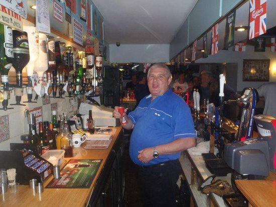 The Sutherland Hotel : Roger the Barman