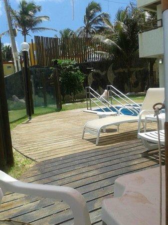Elegance Ponta Negra Flat Beira Mar: Area de piscina