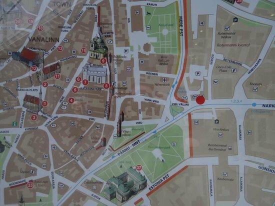 Nordic Hotel Forum : Расположение - идеальное