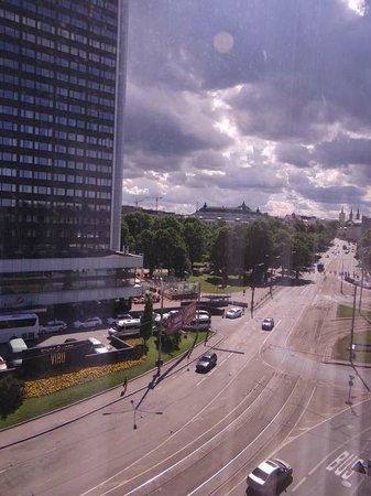 Nordic Hotel Forum : Вид из номера