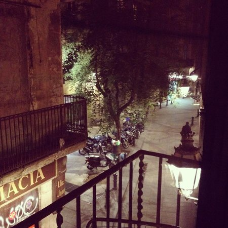 AinB Picasso-Corders: view from the balcony