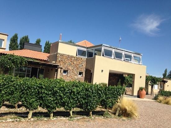 Villa Mansa Wine Hotel & Spa: vista del frente