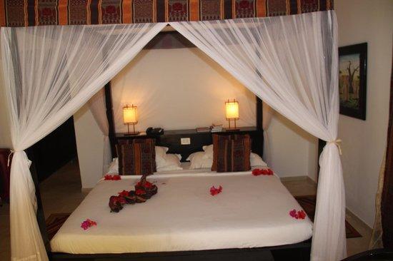 Dream of Zanzibar : bedroom - simple but comfy