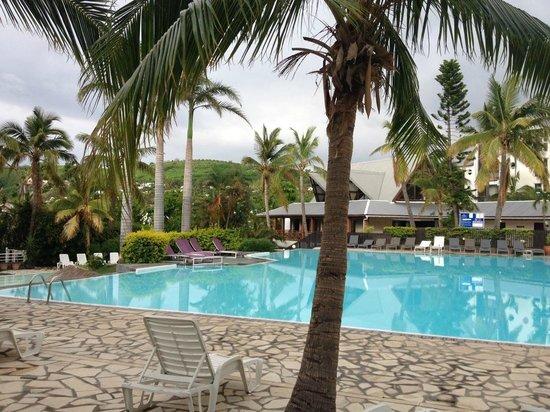 Grand Hotel des Mascareignes: magnifique piscine