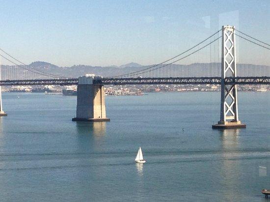 Hyatt Regency San Francisco : Just part of the view from the Regency Club...take me back!