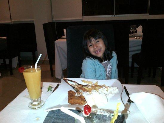 Sunec Hotel : Muy buena comida