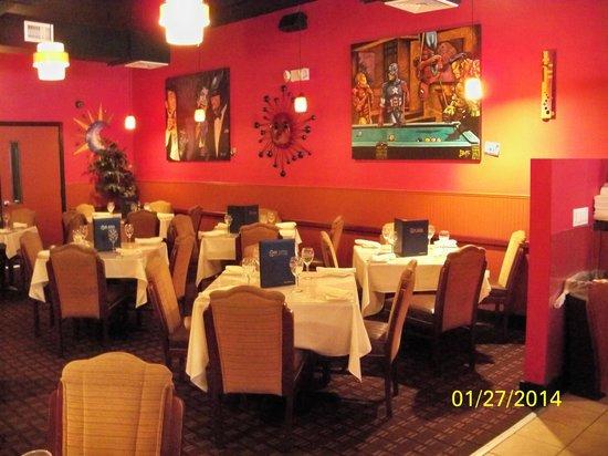 Cafe Luna: View inside the restaurant