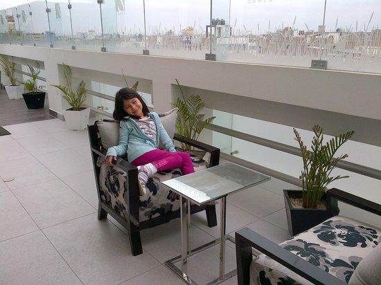 Sunec Hotel : Area de la terraza bonita