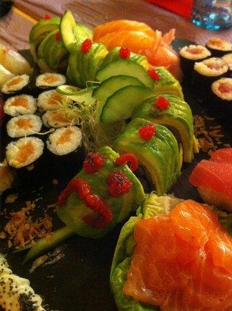 Iki Sushi : Menu découverte
