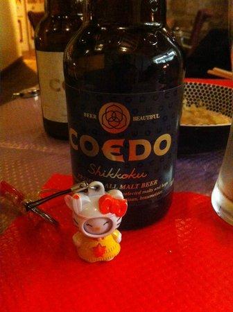 Iki Sushi : Bière brune