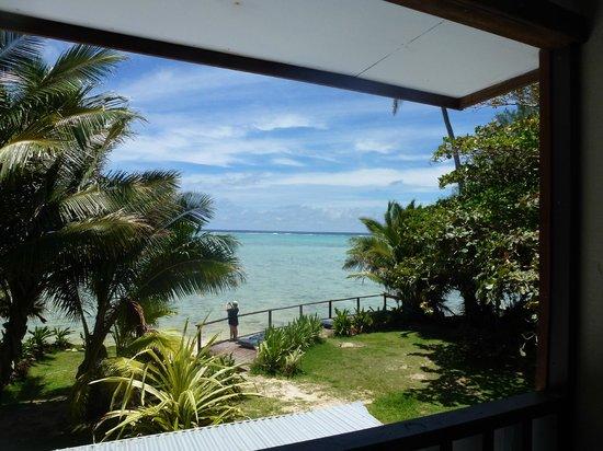 Muri Beach Resort: View from room 16