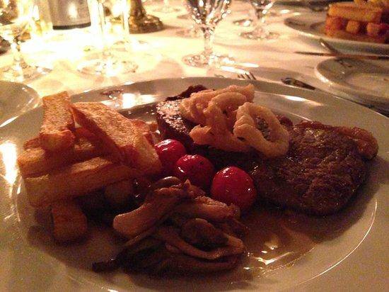 Rhubarb - The Restaurant at Prestonfield: beef