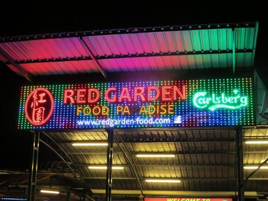 Red Garden Food Paradise & Night Market: Entrance