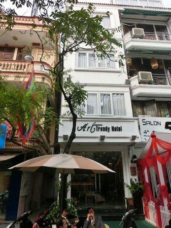 Art Trendy Hotel: Esterno