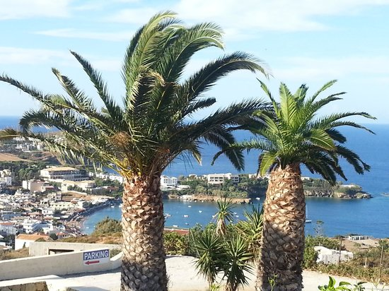 Pela Mare Hotel : het uitzicht