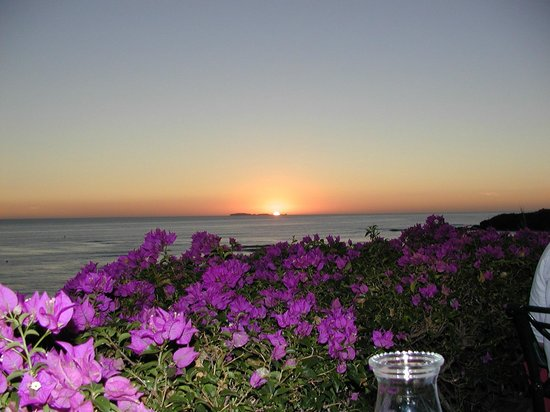 Grand Palladium Vallarta Resort & Spa: Beautiful Mexican Dining Sunset View from Table