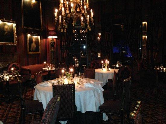 Rhubarb - The Restaurant at Prestonfield : sala