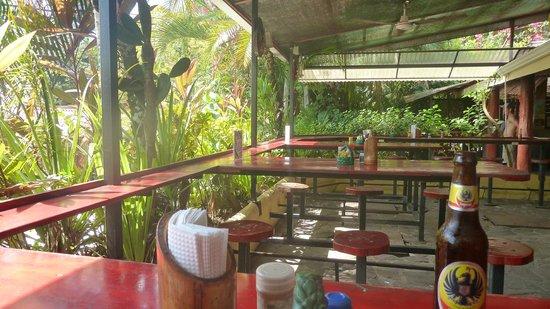 Backpackers Paradise Costa Linda: Bar