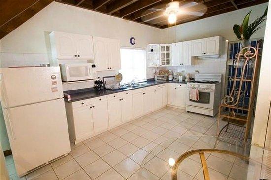 Anchorage Jamaica Bed & Breakfast : Travellers Palm Apt. Kitchen