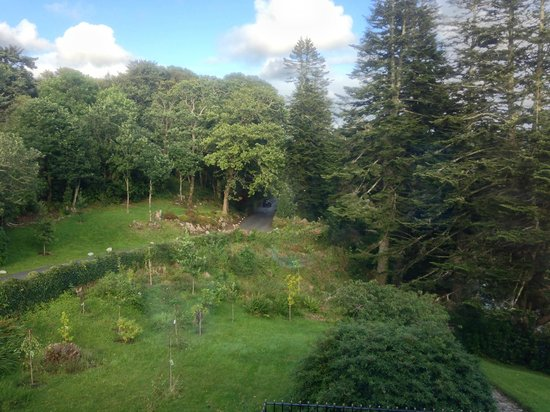 Ballynahinch Castle Hotel : Room with a view