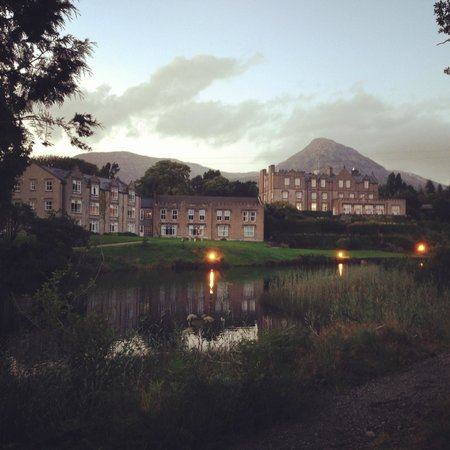 Ballynahinch Castle Hotel : A view from one of the trails