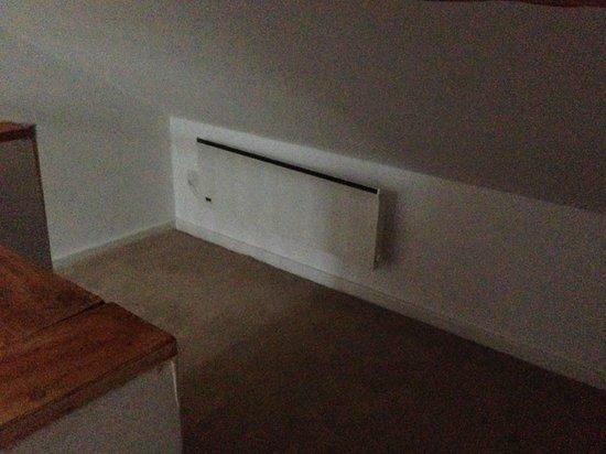 City Stop Manchester: radiator in attic bedroom