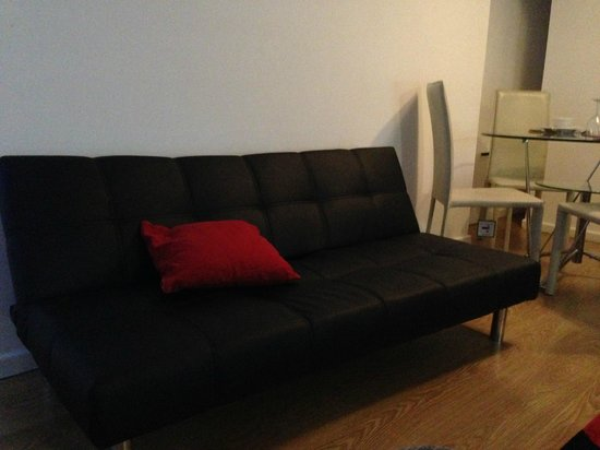 City Stop Manchester: sofa bed
