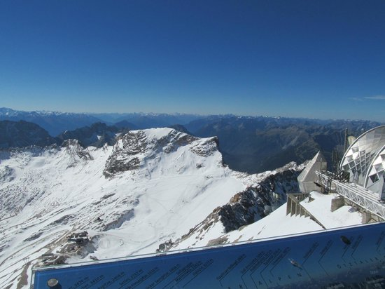 Zugspitze: View from the Observation Deck