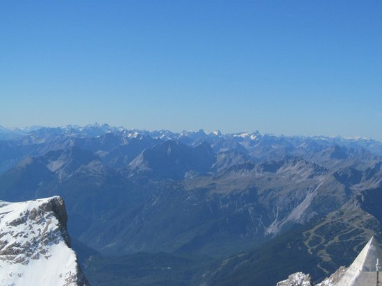 Zugspitze: View of the Alps