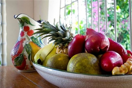 Anchorage Jamaica Bed & Breakfast: Delicious Jamaican Fruits