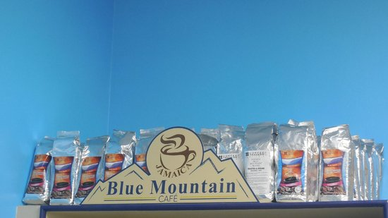 Blue Mountain Cafe: Our Blue Mountain Coffee, Fresh from Jamaica