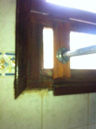 LD Le Flamboyant: ventana y Soporte de cortina para la ducha