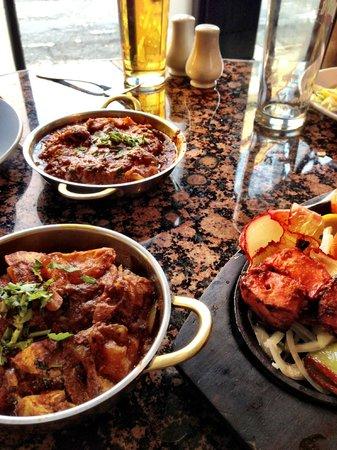 Jinnah Restaurant York: Lovely curry