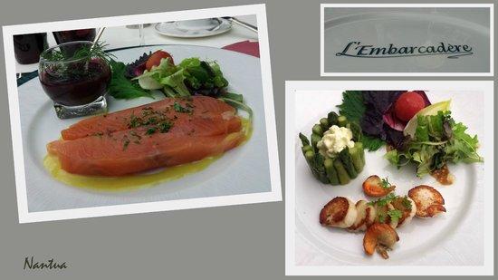 Hotel Restaurant de l'Embarcadere : restaurant