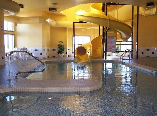 Indoor Pool With 80 Foot Waterslide