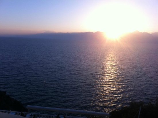 La Boutique Antalya: Sonnenuntergang