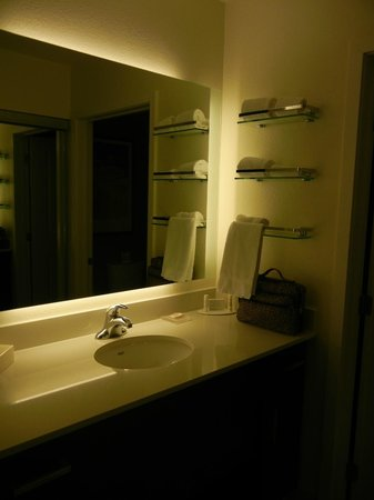 Residence Inn Tempe Downtown/University : backlit vanity was great